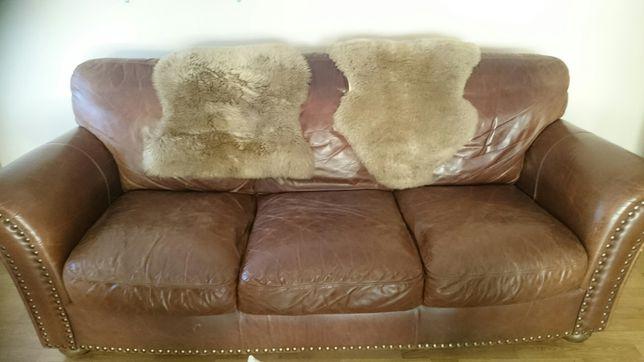 Sofa skórzana 3+2