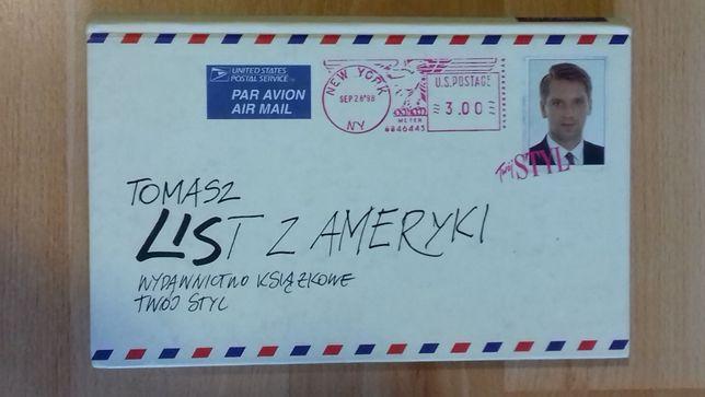 Tomasz Lis - List z Ameryki