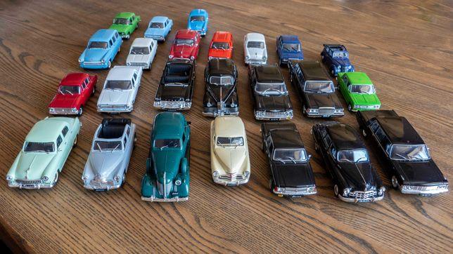 Модели автомобилей М 1:43. Deagostini.