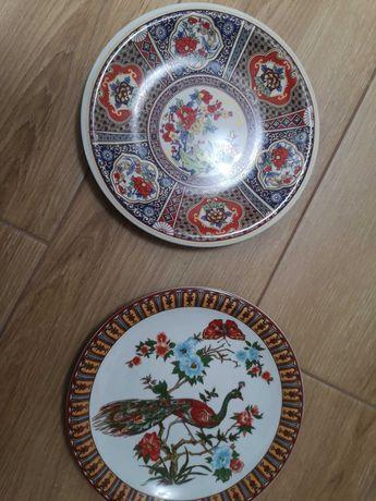 2 pratos decorativos