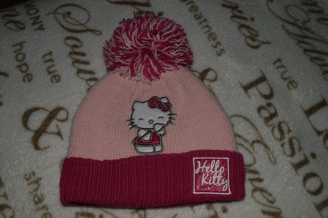 Czapka Hello Kitty jak Nowa!!!