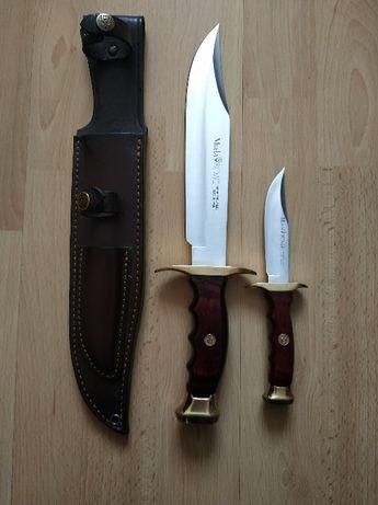 Zestaw Kangaroo Muela Pakkawood Bushcraft Survival Western Nóż