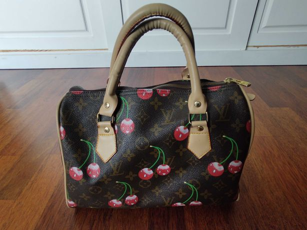 Louis Vuitton torebka kuferek wisienki