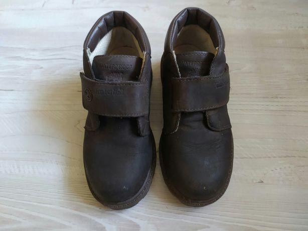 Ботинки Тимберленд кожаные детские