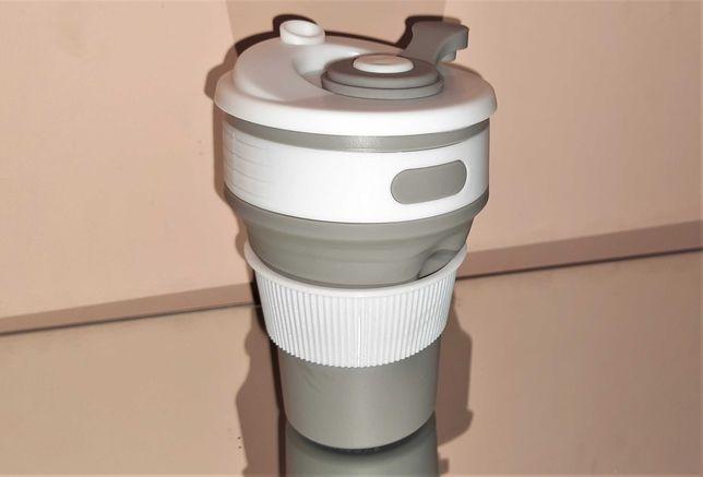 Силиконовый складной стакан  чашка /Силиконовая чашка Collapsible