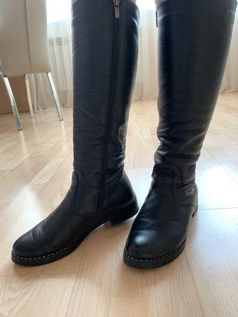 Продам женские зимние Сапоги Ботинки КОЖА жіночі