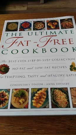 The ultimate fat-free cookbook, poradnik w j. angielskim