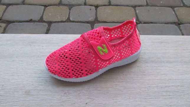 Кеды кроссовки дышащие сетка розовые