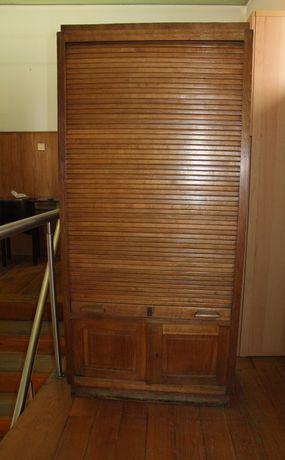Lindíssima estante de persiana Vintage