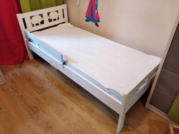 łóżeczko łóżko Ikea Kritter + materac Vyssa