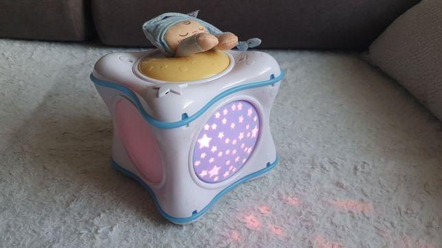 Chicco Projektor Tęczowa Kostka 3w1 pozytywka Z efektami świetnymi