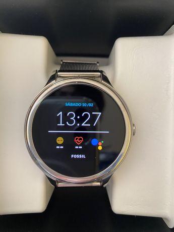 Smartwatch Fossil 5ª geração 5E prateado FTW6071 ultimo preço