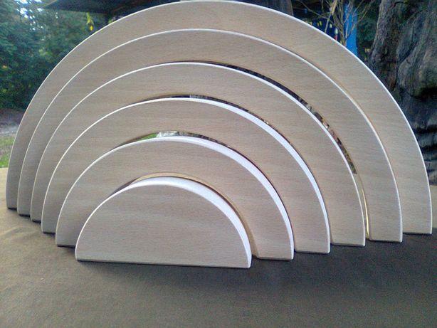 Tęcza drewniana montessori