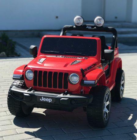 JEEP WRANGLER DWUOSOBOWY samochód na akumulator Napęd 4x4 Pilot