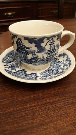Chávena de chá de louça inglesa,  coleções, antiguidades