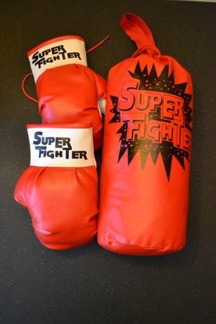 Zestaw treningowy rękawice + worek bokserski, Super Fighter