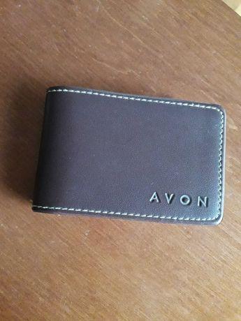 Etui na karty wizytówki / wizytownik z Avonu (16 kart/wizytówek)