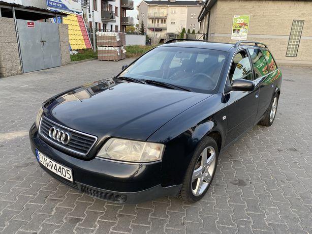 2.4 V6 LPG_klima sprawna_nowa butla GAZ_Xenon_Audi A6 kombi
