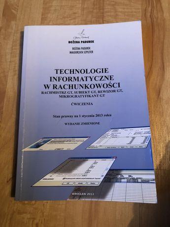 Technologie informatyczne w rachunkowości ksiazka
