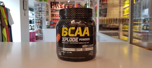 OLIMP OLIMP BCAA Xplode - 500g - bcaa aminokwasy Muscle Power