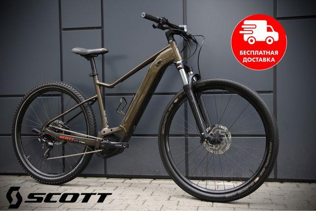 Электровелосипед Scott Axis ebike trek cube haibike