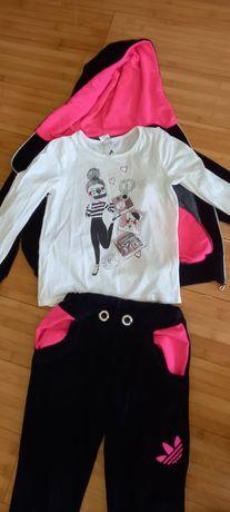 Спортивний костюм на дівчинку 7 8 років 128 134 размер розмір