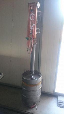 Destylator reaktyfikator kolumna miedziana bimber