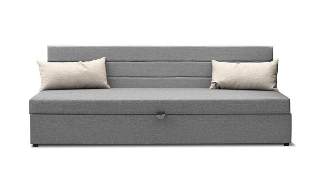 Tapczan , łóżko jednoosobowe plus pojemnik na pościel, Promocja.