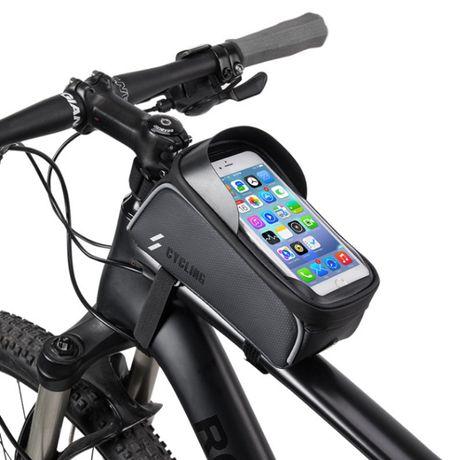 """Вело сумка на раму ROCKBROS 017 КОЗЫРЕК для 6"""" велосипед велосумка"""