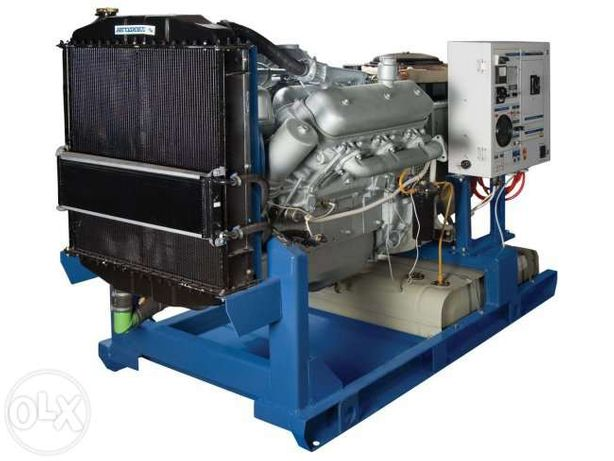 Дизельная электростанция, генератор АД-60 квт