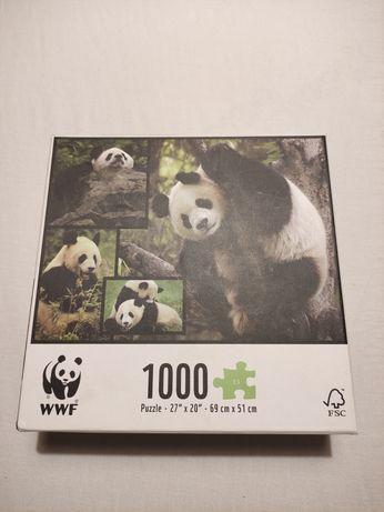 Puzzle Panda WWF 1000