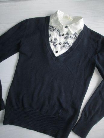 Школьная форма для девочки, кофточка-блузка Deloras