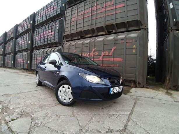 Seat ibiza 2009r 1.2 benzyna 5 drzwi klima OPLACONA