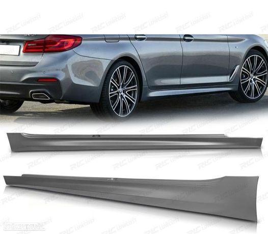 EMBALADEIRAS LATERAIS BMW S5 G30 / G31 17- M-TECH STYLE