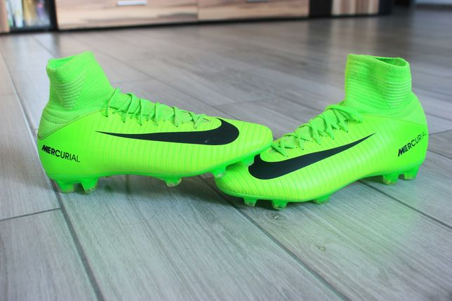Подростковые футбольные бутсы Nike Mercurial Superfly Kids V FG Adidas