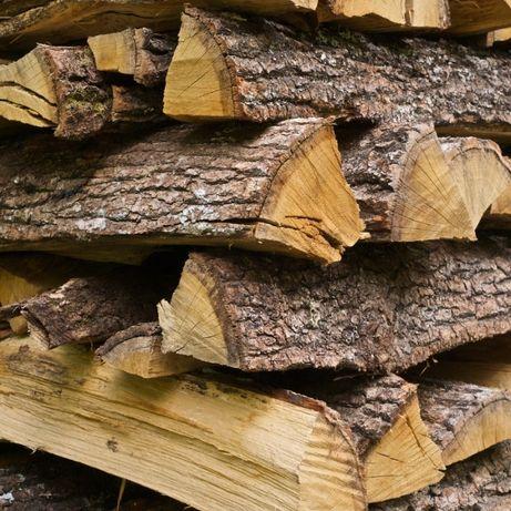 Drewno kominkowe, opałowe, do kominka. Brzoza, Dąb, Buk Szybka dostawa