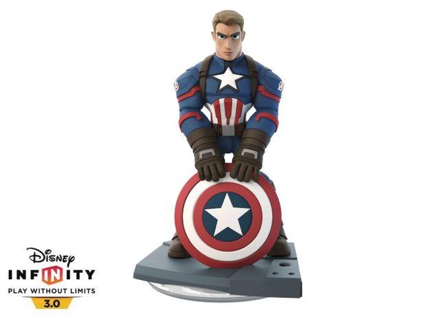 Kapitan Ameryka Disney Infinity 3.0 figurka Pierwszy Avenger