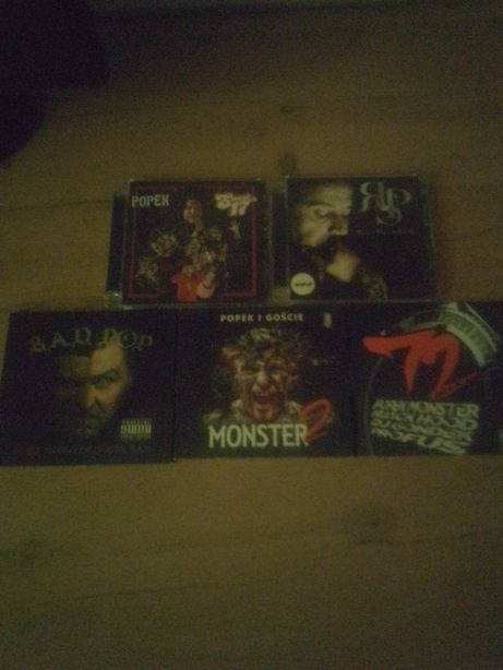 Popek monster Peja płyty CD kolekcja