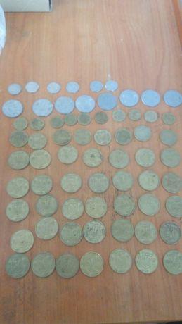 монеты Украины 1992 год 50, 25, 10, 5, 1 копейки