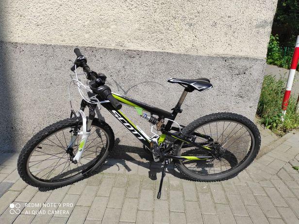 """Rower Scott Spark JR 24"""" dziecięcy młodzieżowy trekingowy górski"""