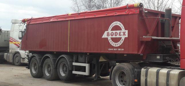 Naczepa wywrotka BODEX 28m3 zamiana