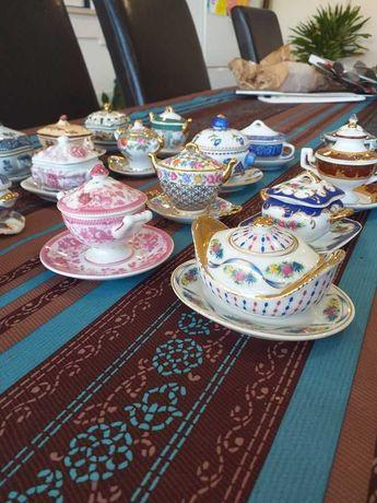 Coleção 17 Terrinas Porcelain Art