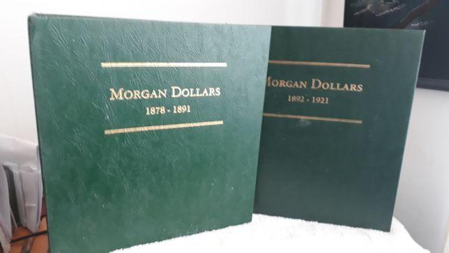 2 ALBUNS LITTLETON para Morgan dollars como novos Aceito ofertas