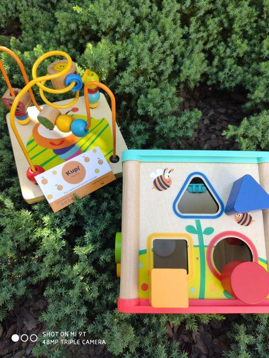Бизиборд. Бизикуб. Сортер для детей. Пальчиковый лабиринт для детей. Харьков - изображение 1