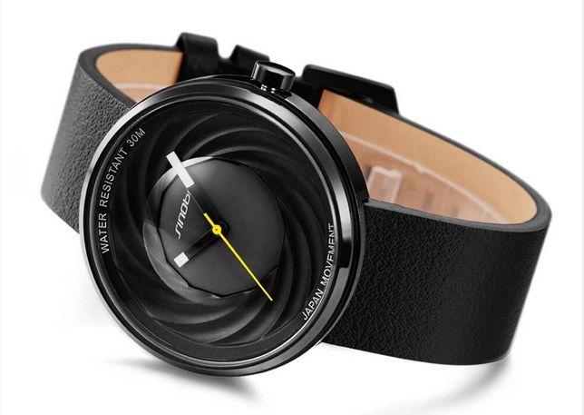 Часы наручные SINOBI с японским механизмом, кварцевые,кожаный ремешок