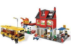 Lego City Miejski zakątek z autobusem - 7641