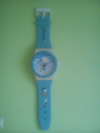 Zegar na ścianę zegarek snoopy. Dla dzieci