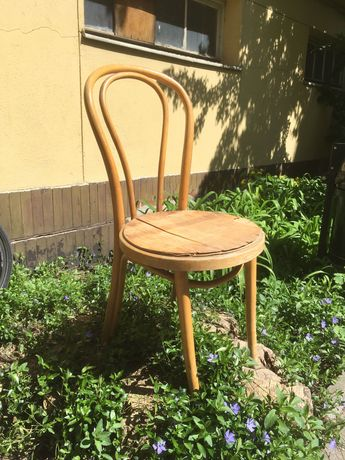 krzesło gięte Radomsko Fameg A-18 Thonet PRL
