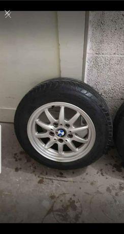 Felgi aluminiowe z oponami BMW R15 /185/65