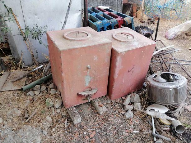 Depósitos/cuba de cimento